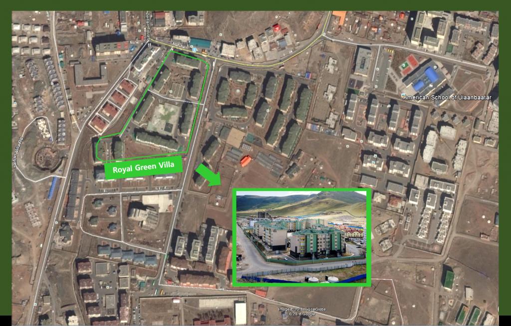 royal green villa-map